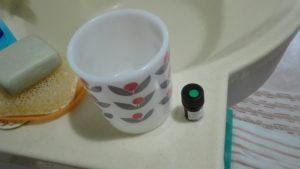 マグカップでアロマ